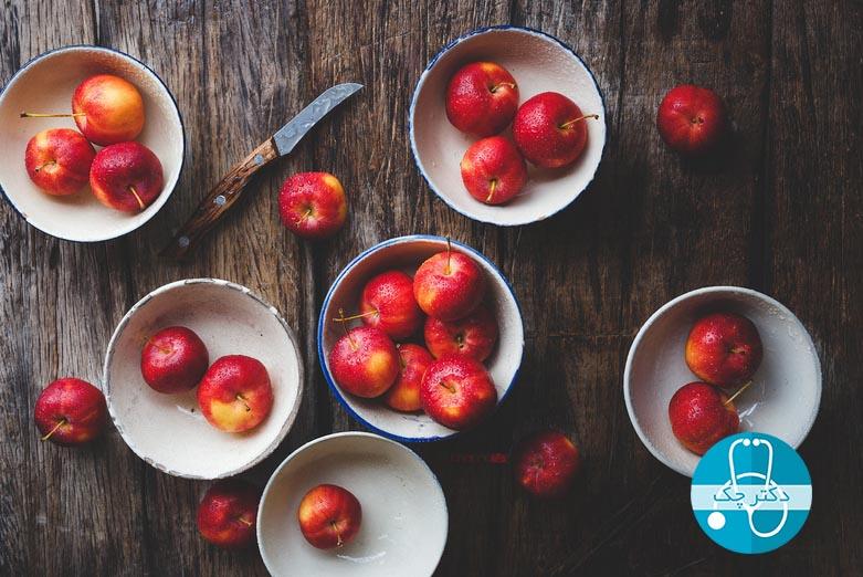 سیب برای کاهش وزن و لاغری