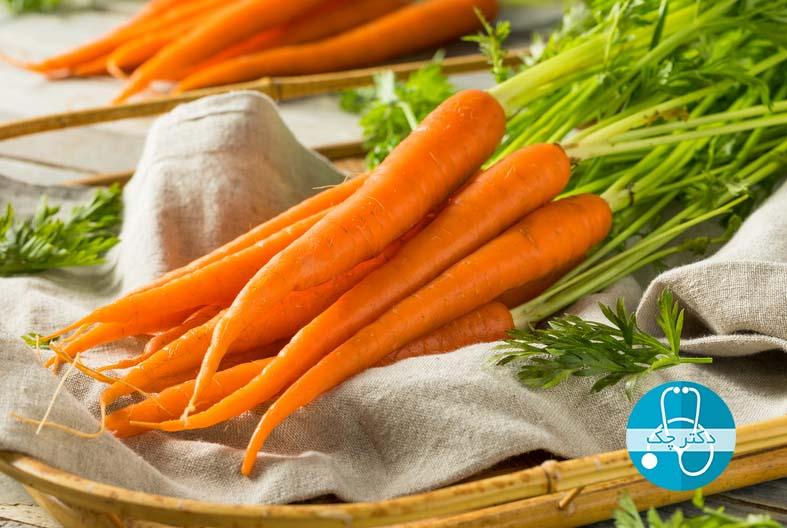 هویج برای کاهش وزن