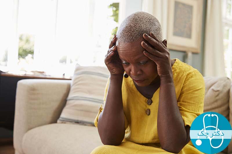 سرگیجه یا احساس سبکی سر در فشار خون پایین
