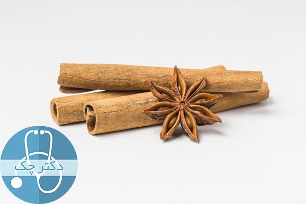 6. دارچین برای درمان ترش کردن معده