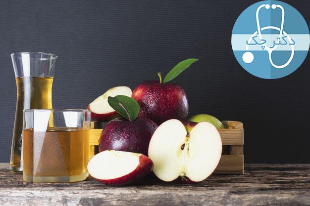 (الف) آب سیب
