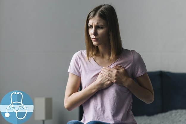 دلایل درد پستان