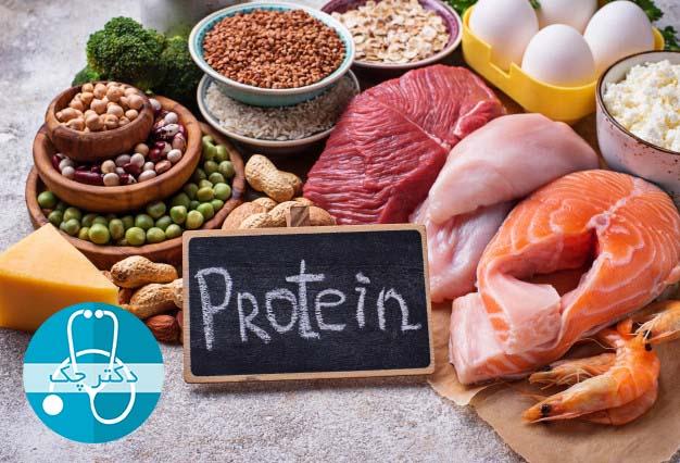 47 مواد غذایی پروتئین دار - سرشار از پروتئین
