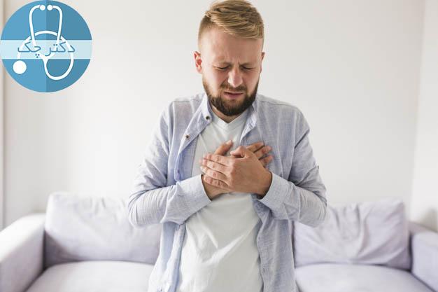 سوزش سر دل باعث داغ شدن کمر می شود