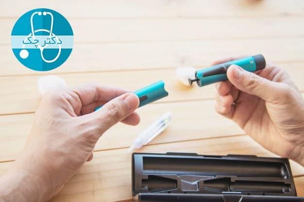 درمان انواع دیابت با انسولین