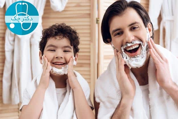 ضخیم شدن ریش و سبیل