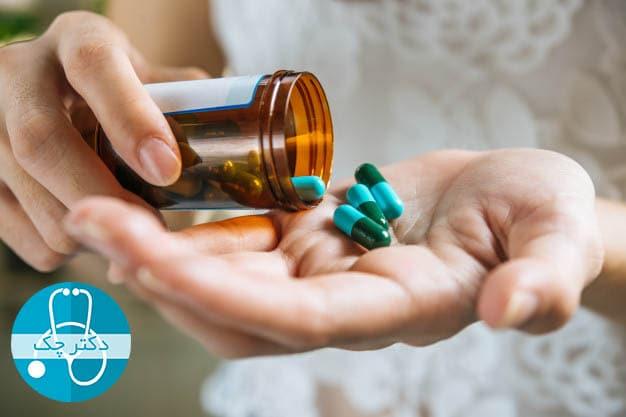 درمان جوش روی سینه با دارو