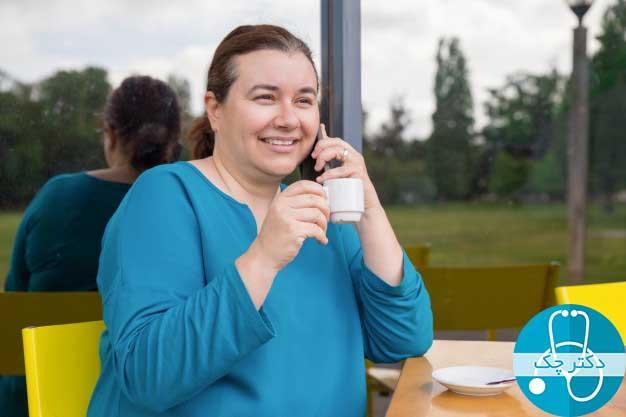 مبارزه با چاقی با نوشیدن یک فنجان قهوه در روز