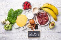 مواد غذایی سرشار از بیوتین
