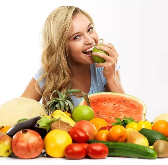 میوه ها و سبزیجات کم قند